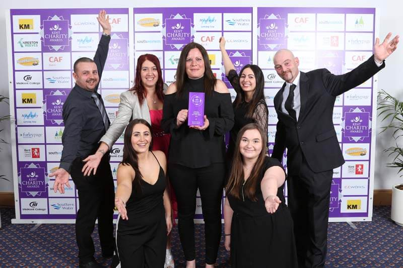 Kent Charity Awards Winner 2018